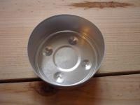 Teelichtbehälter Aluminium