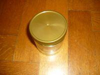Schraubglas neutral 500g mit Deckel
