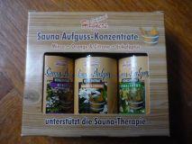 Sauna-Aufguss Konzentrat 3er Set