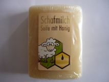 Schafmilchseife mit Honig