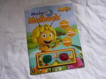 Malbuch Biene Maya 3D