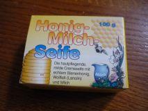 Honig Milch Seife