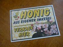 Honig aus eigener Imkerei, Verkauf hier!