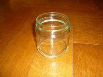 Schraubglas neutral 250g ohne Deckel