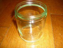 Schraubglas neutral 500g ohne Deckel